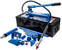 Karosserie Richtsatz Hydraulik Presse Karosseriepresse Ausbeul Werkzeug Mobil