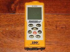 Johnson Level 40-6005 230-Feet Laser Distance Measure GREAT COND.