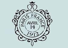 Vintage**Schablone**Shabby-French**für Stoffe, Möbel,Torten,Wände ** Nr.: 1089