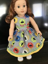 """Monsters Fall Dress Clothes For 18"""" American Girl Doll, Alexander, Gotz (Cenci)"""