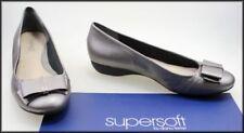 Diana Ferrari Leather Slip On Flats for Women