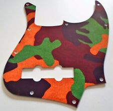 NEW PICKGUARD JAZZ BASS - Camouflage  - USA - pour guitare J-Bass