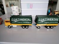 Matchbox Superkings K21 Ford H Series 1979 transcontinental Truck & Trailer
