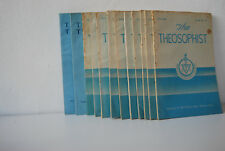 The Theosophist 12 issues: july 1965 - nov. 1966