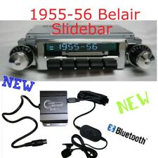 1955 55 CHEVY BELAIR SLIDEBAR RADIO & Bluetooth Kit 300 watt USB iPod Doc