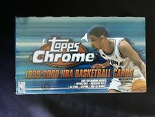 NBA Basketball Topps Chrome Factory Sealed Box 1999 2000