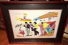 Beatles Yellow Submarine Extremely Rare Giclee Art Signed Animator Ron Campbell