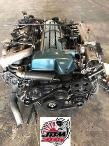 TOYOTA ARISTO 3.0L INLINE 6 TWIN TURBO VVTI ENGINE TRANSMISSION ECU JDM 2JZGTE