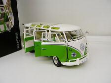 1:18 Schuco VW Volkswagen T1 Samba Bus lightgreen NEW FREE SHIPPING WORLDWIDE
