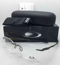 OAKLEY Eyeglasses WINGFOLD EVS OX5115-0153 Rimless Titanium Satin Pewter Frame