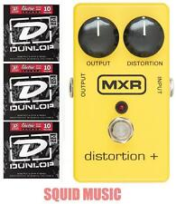 MXR Distortion + M-104 Guitar Effects Pedal ( 3 SETS OF STRINGS ) M104 Dist +
