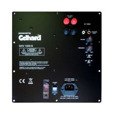 Gelhard GXV 1000s digital aktiv Einbau Subwoofer Modul 1000w Getestet