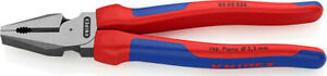 KNIPEX High Leverage Combination Pliers 225 mm 02 02 225 (0202225)