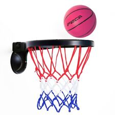 Feca Sp1 Basketball Hoop Balls Kits, Sport Toy w Suction Cup, Removable Durable
