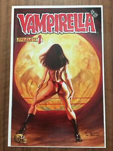 Vampirella #1 (2010, Dynamite), VF/NM Alex Ross Variant, Frazetta Homage, VF+