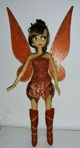 DISNEY STORE FAIRIES TINKERBELL LEGEND OF THE NEVERBEAST DOLL FAWN FLUTTER WINGS
