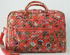 Vera Bradley Iconic Grand Weekender Travel Bag Coral Floral