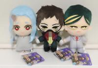 My Hero Academia Plush Doll Stuffed toy 3 set overhaul Eri Sir Night Eye JAPAN