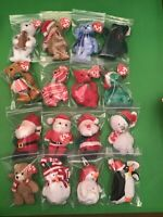 16 Christmas Ty Beanies Great For Stocking Stuffers