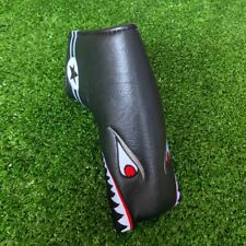 Golf Toothy Shark Blade Putter Head Cover Magnetic Cover for Scotty Odyssey Ping
