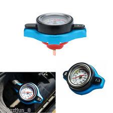 Blue 1.1 BAR Thermostatic Radiator Cap Pressure Rating Temperature Meter Gauge