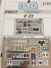 Bilek coloured metal parts for F-22  1/72