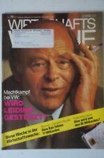 Wirtschaftswoche 39/1974 Leiding Friderichs Pöhl Apel Hans Gerling B4001