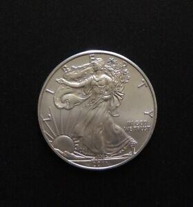 U.S.A. 2011 1oz .999 Beautiful Big Silver Coin Free Registered Post.