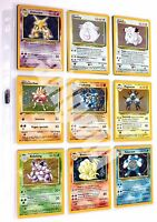 Pokemon TCG GCC CARTE SINGOLE Near-Mint SET BASE ITALIANO Holo Foil Rare