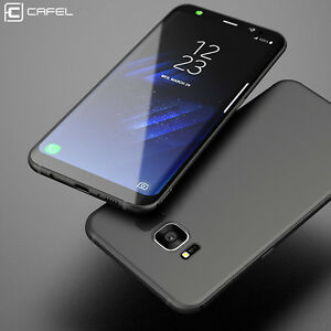 Ultrathin Soft TPU Frosted Matte Rubber Skin Slim Back Case Cover For Samsung