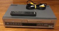Sony SLV-D100 DVD VCR Combo Player VHS Recorder Hi-Fi Stereo + AV Cable!