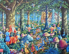 PUZZLE ....JIGSAW.....FISCHEL...FANTASY...Fairy Tales.......500piece....Sealed
