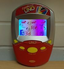 Uno Handheld Electronic Colour Color Screen Uno - Travel Game Radica Mattel. (G)