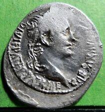 Caius Iulius Caesar Octavianus AUGUSTUS  (27 BC-14 AD)  Denario F.F.C.-22 Silver