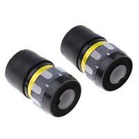 2Pcs Black Handheld Dynamic Microphone Core Cartridge 4.8x2.8cm Replacement