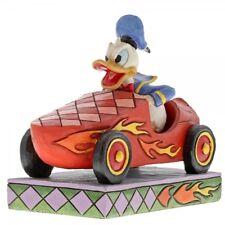 Donald Duck im Auto Seifenkiste Enesco Disney Sammelfigur Figurine 6000975