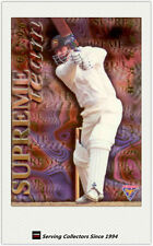 1995-96 Futera Cricket No Limit Cards Supreme Team St8 Ian Healy