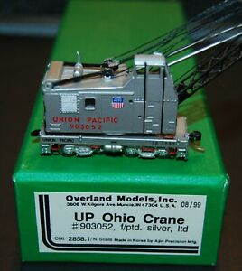 Overland Models N-Scale UP-Union Pacific Crane #903052 Brass Model