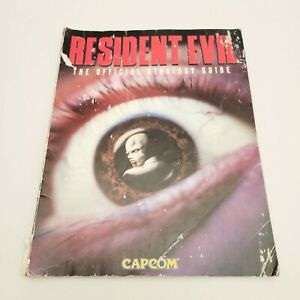 Vintage 1996 Resident Evil: The Official Strategy Guide Playstation Capcom