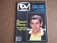 TV JOUR 85/08 (20/2/85) FRANCIS PERRIN ORNELLA MUTI