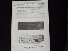 Original Service Manual Blaupunkt Autoradio San remo SQM 28