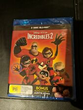 Incredibles 2 (Blu-ray, 2018, 2-Disc Set)