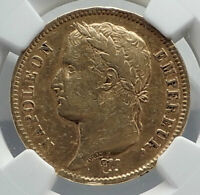 1808 FRANCE Napoleon Bonaparte BIG 40 Francs Antique French Gold Coin NGC i80935
