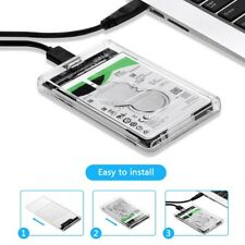 La carcasa Caja Externa 5Gbps USB Carcasa HDD Disco Duro 2.5 SATA Externo Cables