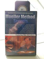 MIKE MICHALKOW ´Moeller Method Secrets´ 2 DVD´s Schlagzeug Drum DVD