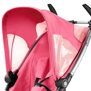Quinny Zapp Sun Canopy - Pink Precious New