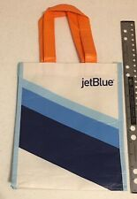 """Jetblue Airlines Small Shopping Bag 10.5 x 8.5"""" Plus Straps"""