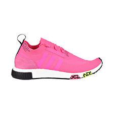 Adidas NMD_Racer Primeknit Men's Shoes Pink-White-Black CQ2442
