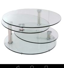 DWELL Tryka glass coffee table ( Immaculate).