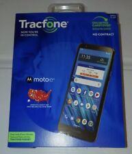 Tracfone Motorola Moto E6 4G LTE Prepaid Smartphone (Locked) Black 16GBCDMA SIM